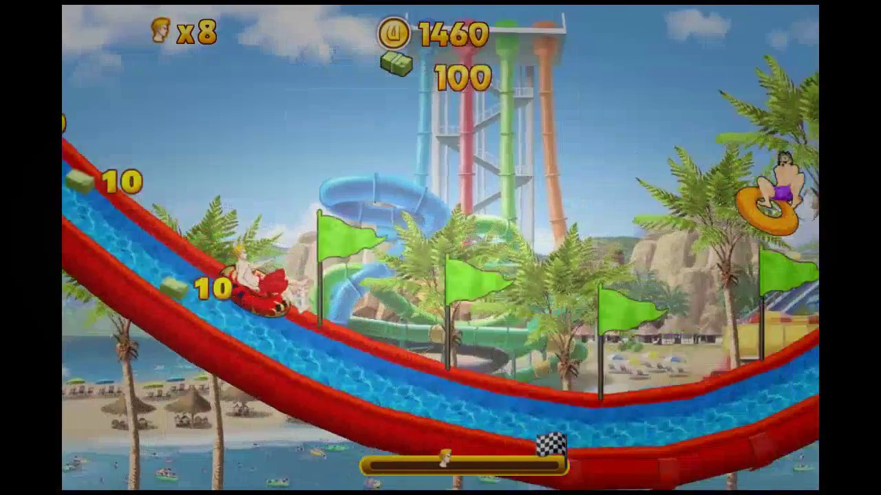 Game for Kids | Play Uphill Rush 7 Waterpark game online - Y8 COM