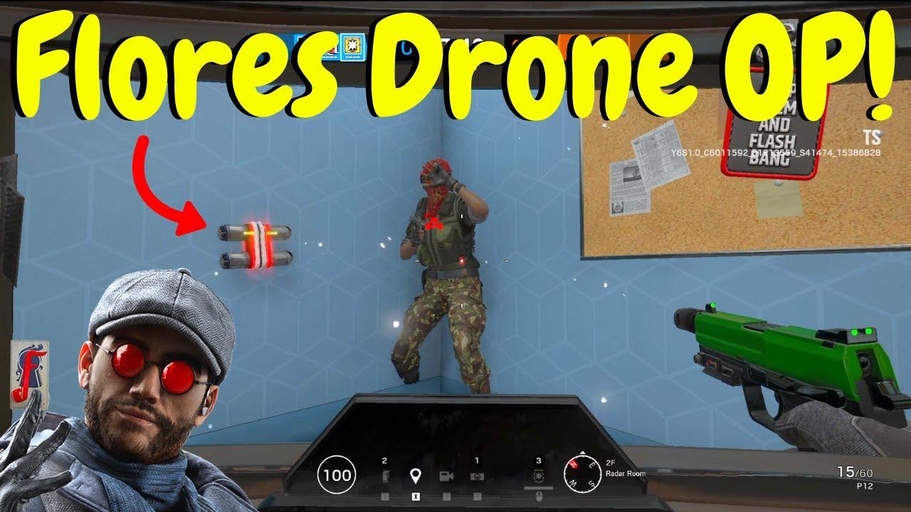 Download Flores Blitz Strat in Rainbow Six Siege (Test Server Gameplay)