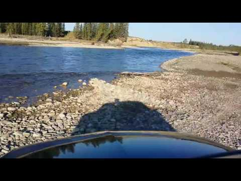 Gold Prospecting on the Red Deer River