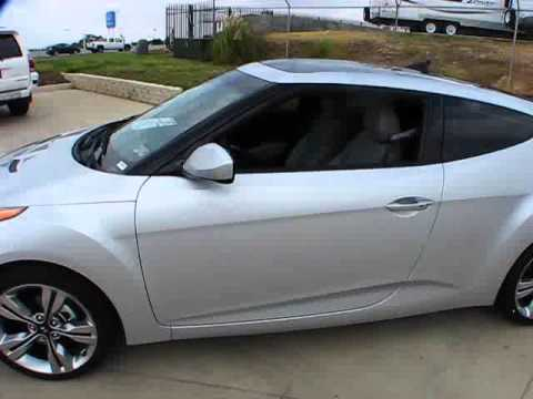 2012 Hyundai Veloster 6 Speed Start Up Exterior Interior
