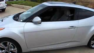 2012 Hyundai Veloster 6 Speed Start Up, Exterior Interior Review
