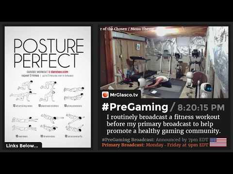 💪 #PreGaming: DAREBEE Posture Perfect Workout