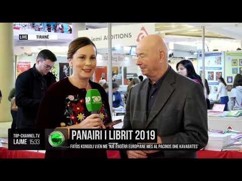 """Panairi i Librit 2019/ Fatos Kongoli vjen me """"Një ëndërr europiane mes Al Pacinos dhe Kavabates"""""""