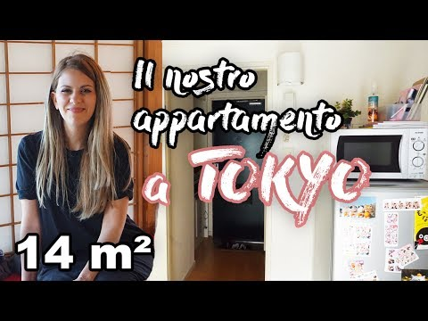 Vivere a TOKYO, Giappone in 14 m² - appartamento TOUR e COSTI