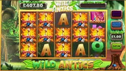 WILD ANTICS ONLINE SLOT BIG WIN