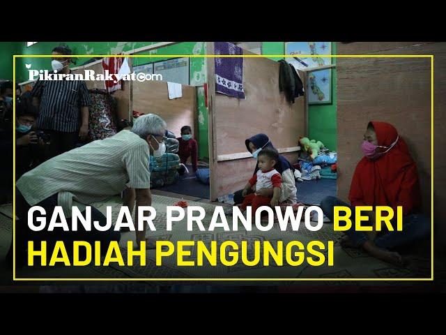 Ganjar Pranowo Beri Hadiah Uang untuk Bayi 40 Hari di Pengungsian, Bukan Narno tapi Namanya Jordan