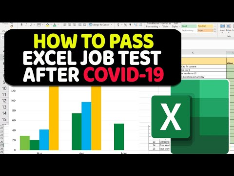 How To Pass Excel Assessment Test In 2020 During COVID 19