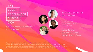 My First Steps in Events   The Event Freelancer Summit 2020