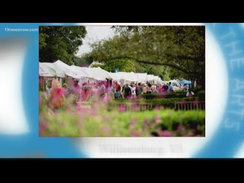 Annual arts festival in Williamsburg commemorates 50-year anniversary