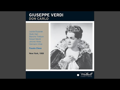 Don Carlo, Act III: Act III Scene 1: Giustizia, Giustizia, Sire! (Elizabeth, Philip)