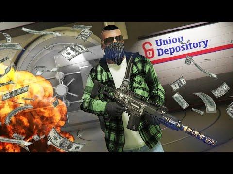 GTA 5 Real Life Thug Mod #17 - ROBBING A BANK!! (GTA 5 Mods Gameplay)