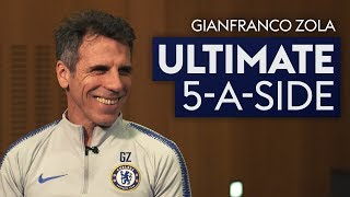 Paolo Maldini does NOT get picked! | Gianfranco Zola | Ultimate 5-A-Side