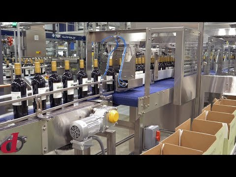 Packaging Machinery For Wine Bottles | Automated Loader For Wine Packaging