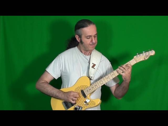 MARCELLO ZAPPATORE plays GARY MOORE's solo on FALLING IN LOVE WITH YOU