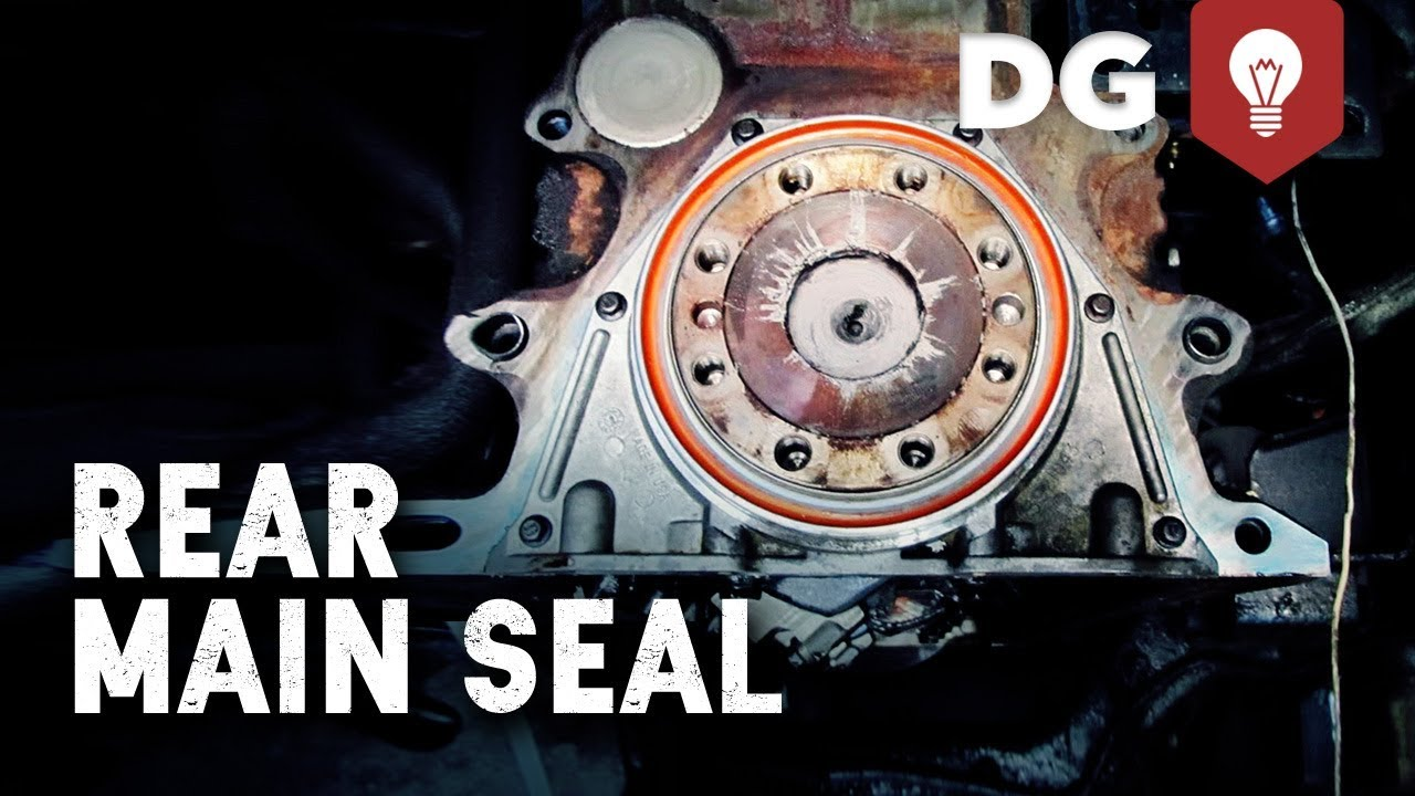 Cummins 5 9 24v Rear Main Seal Leak Replacement
