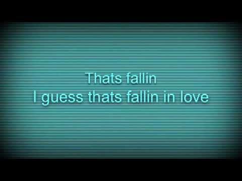 Thats falling in love lyrics (talking...