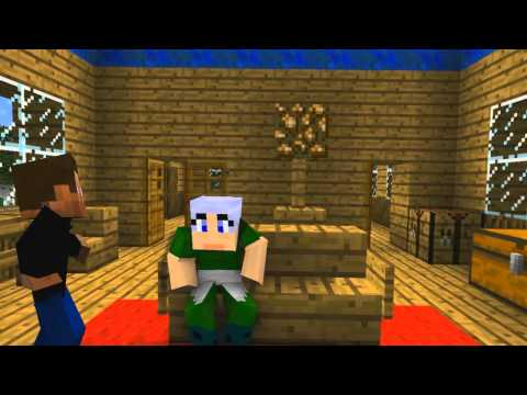 Minecraft Machinima || Party - Wybuchowa impreza PL / EN SUB