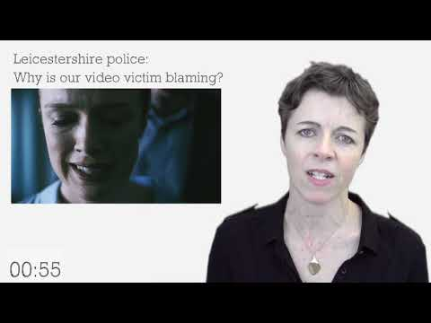 Leicestershire Police: Why is our video victim-blaming?