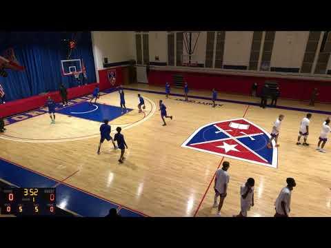 Fork Union Military  vs. Church Hill Academy Varsity Mens' Basketball