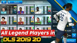 How to get legends in Dream League 19|ft pele ronaldinho puyol ronaldo etc.|Legends in DLS19