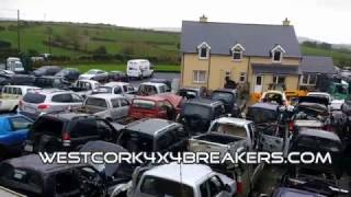 West Cork 4x4 Breakers Irelands biggest 4x4 Breakers
