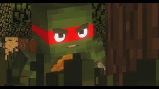 Мультики Minecraft - Черепашки Ниндзя в Майнкрафте