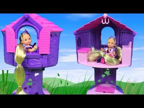 Rapunzel 'in Kulesi Harika Oyuncak | Rapunzel Oyuncak Bebek | EvcilikTV