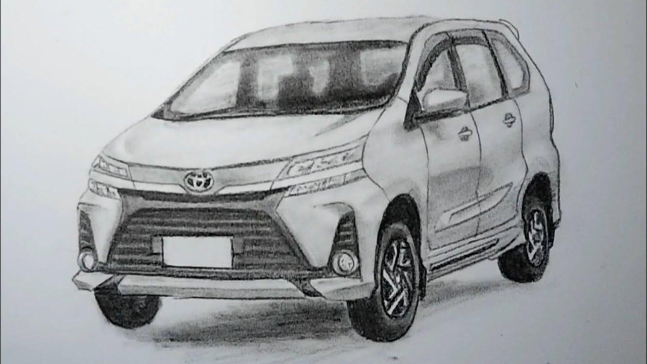 Menggambar Toyota Kijang Kapsul Youtube