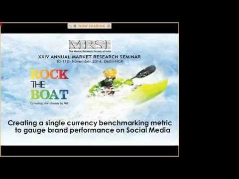 KH Session 16042015 Part 1 Creating a single currency   performance on Social Media