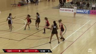 Netball | St Mary's College  v  Ashburton College | Sky Sport