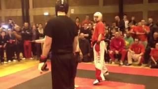 Dave Parkinson vs Marcus Lewis warriors open