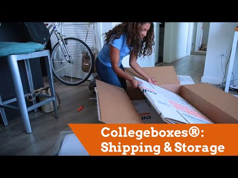 Collegeboxes®: Shipping & Storage For Students