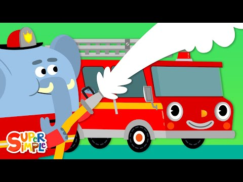 here-comes-the-fire-truck-|-kids-songs-|-super-simple-songs