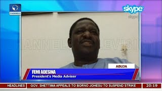 Presidency Reacts To Claims By Opposition Party Pt 1 | Sunday Politics |