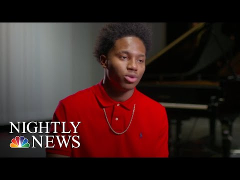 Teen Pianist With Four Fingers Defies The Odds | NBC Nightly News
