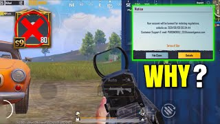 I GOT BANNED FOR 10 YEARS 😞 PUBG Mobile
