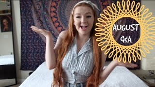 AUGUST Q&A: Dancing with Mod Sun, Gap Year, Collab Channel, & MORE! Thumbnail