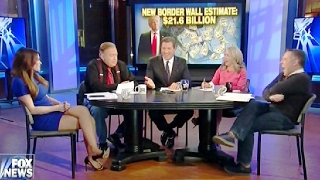 Kimberly Guilfoyle I Will Spend  My Life With Bob Beckel if the Wall Isn't Built | PoliticalNews