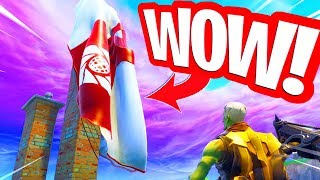 Wow!! PARACHUTE OF THE NEW ROBOTIC SKIN IS FOUND! Fortnite Battle Royale