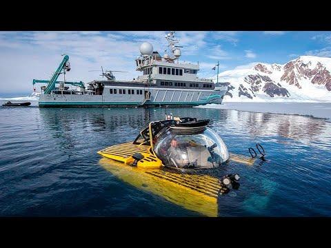 العلماء يغوصون لاول مرة الى أعماق أنتاركتيكا وما شاهدوه في الاسفل لا يصدق  - نشر قبل 4 ساعة