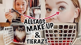 Mein Alltags Makeup, zum Tierarzt gehen..VLOG I Meggyxoxo