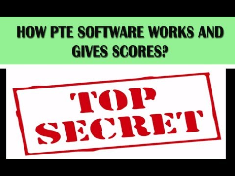 [ SECRET REVEALED ] HOW PTE SOFTWARE WORKS AND GIVE SCORES
