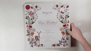 Winter Woodland 12x12 Premium Paper Pad