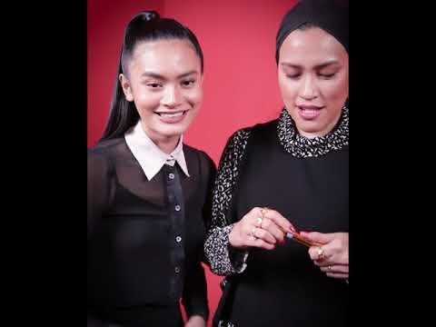 EH! Challenge With YSL Beauty ft. Nia Atasha & Noriana Face Designer