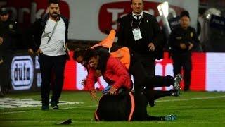 Taraftar Saldırısı, Taraftarın hakeme vurma anı Trabzonspor 0 - Fenerbahçe 4 ,Taraftar hakeme vurdu