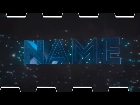 FREE Intro Template #212 Blender Only