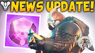 Destiny 2 news! 75 random engrams, leaked promo info, new cutscene & power weapon effects