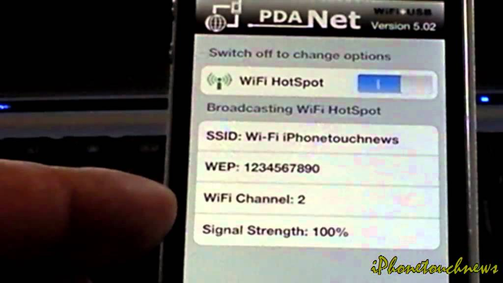 pirater un wifi avec un iphone