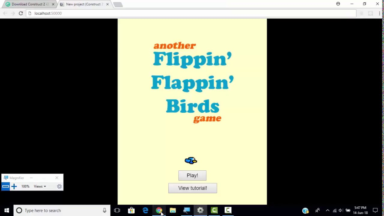 Quickly create flappy bird on construct 2 youtube.