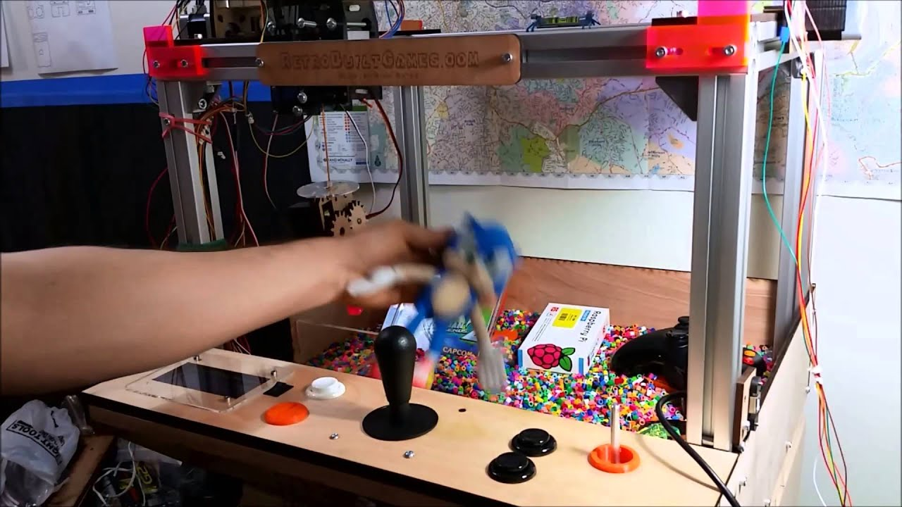 A And R Motors >> Arduino Claw Machine: Showcase and basic How to - YouTube
